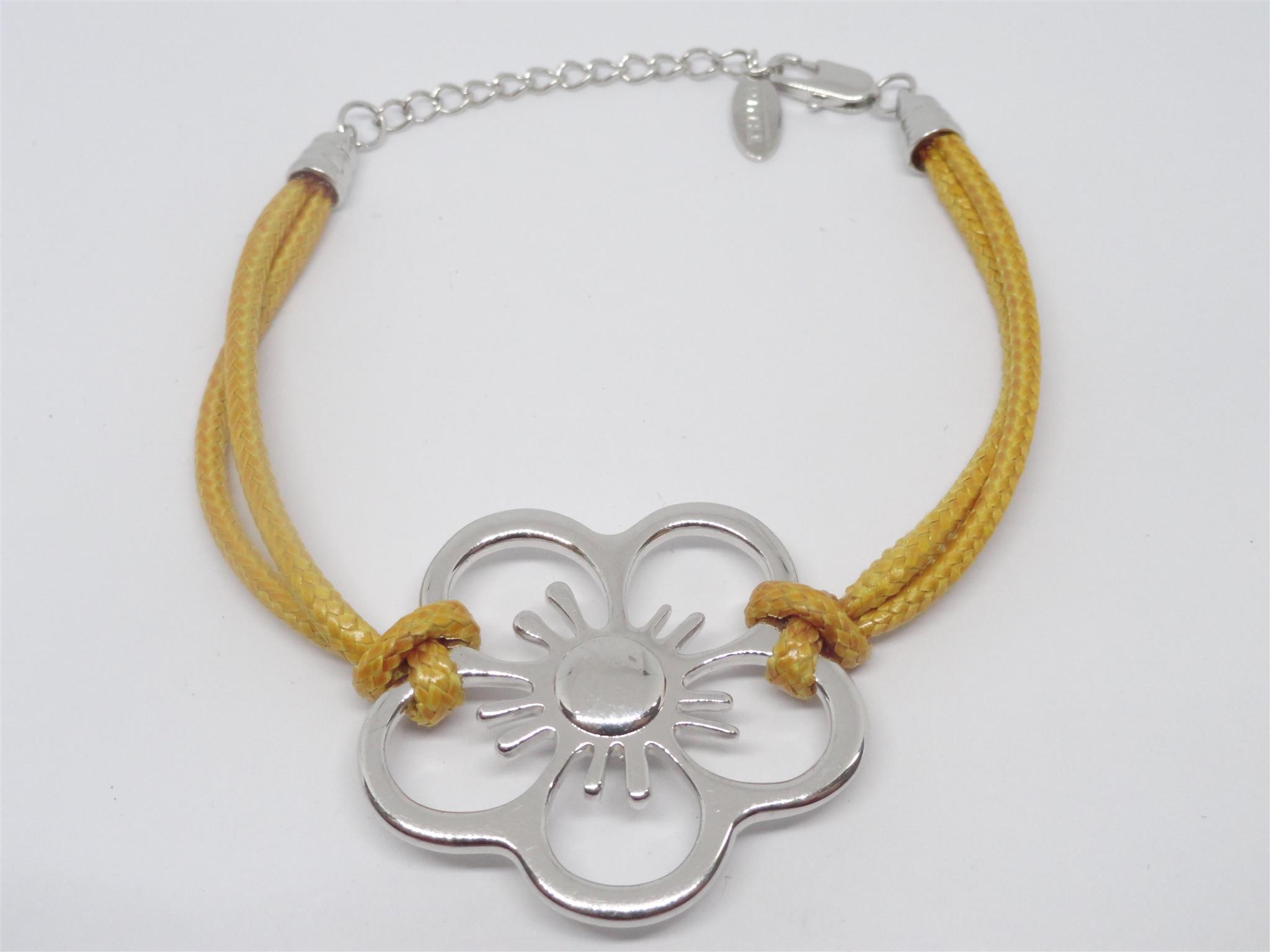 Bracciale acciaio thun fiore corda 273 vv money money for Thun in offerta
